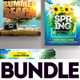 Summer Flyer Bundle v9 - GraphicRiver Item for Sale