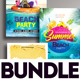 Summer Flyer Bundle v10 - GraphicRiver Item for Sale