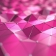 Pink Polygonal Surface - VideoHive Item for Sale