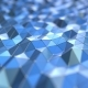 Blue Polygonal Surface - VideoHive Item for Sale