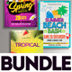 Summer Flyer Bundle v11 - GraphicRiver Item for Sale