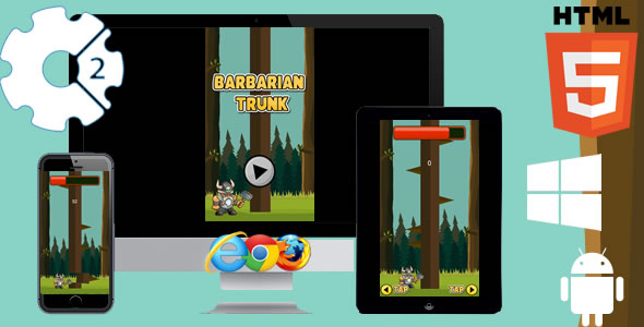 Barbarian Trunk Game - CodeCanyon Item for Sale