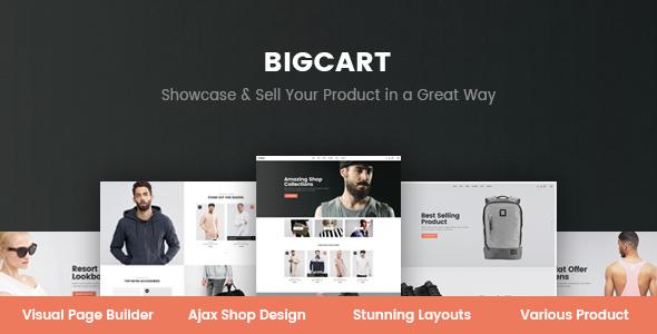 Bigcart – Clean, Modern WordPress Theme for WooCommerce