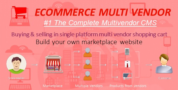 Marketplace Builder Multi - Vendor CMS - CodeCanyon Item for Sale