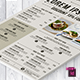 Food Flyer Template Vol. 9