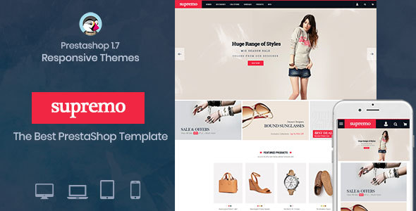 Image of Spremo Fashion - Fashion Responsive Prestashop 1.7 theme