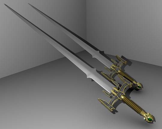 Toon sword - 3DOcean Item for Sale