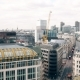 High Angle View of the Central Street, London - VideoHive Item for Sale