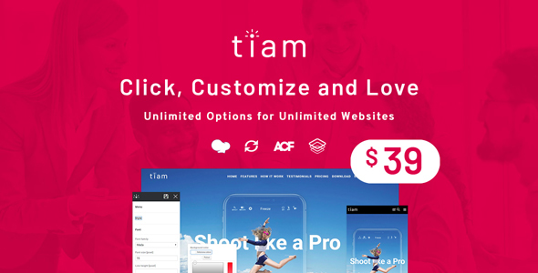 Tiam | Responsive Multi-Purpose Theme