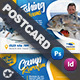Fishing Tour Postcard Templates - GraphicRiver Item for Sale