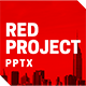 Red Project Powerpoint - GraphicRiver Item for Sale
