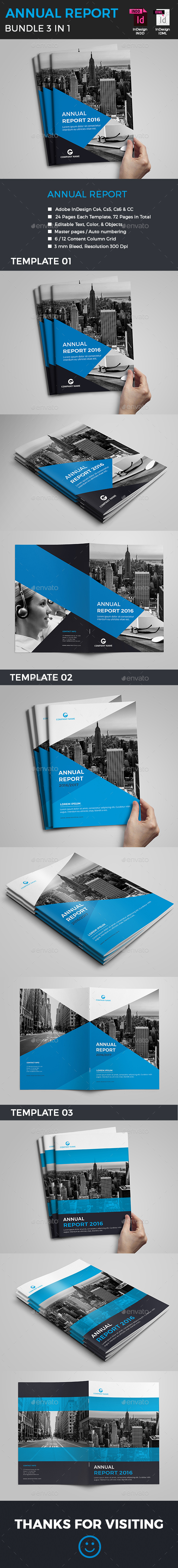 Annual Report Bundle - Corporate Brochures