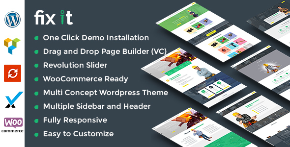 Fixit Construction - Construction WordPress Theme - Business Corporate