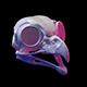 Owl skull 3D print model