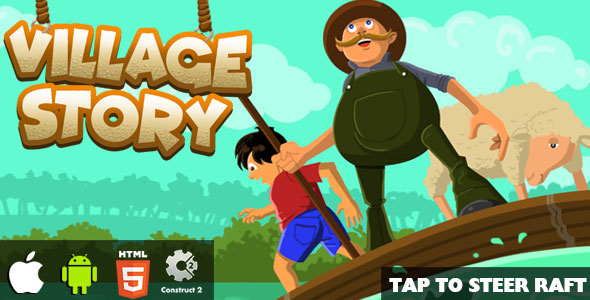 Village Story - HTML5 Game (CAPX)            Nulled