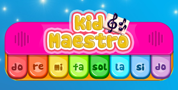 Kid Maestro - music educational game for children            Nulled