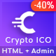 Crypto ICO - Cryptocurrency Website Landing Page HTML + Dashboard Template - ThemeForest Item for Sale