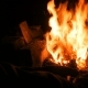 Burning Fire in Furnace - VideoHive Item for Sale