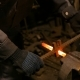 Blacksmith Working with Metal - VideoHive Item for Sale