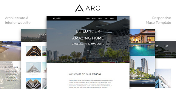 ARC_Architecture / Interior Muse Template - Corporate Muse Templates