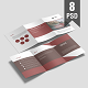 A4 Tri-Fold Brochure Mock-Ups - GraphicRiver Item for Sale