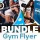 Gym | Fitness Flyer Bundle - GraphicRiver Item for Sale