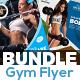 Gym | Fitness Flyer Bundle - GraphicRiver Item for Sale