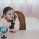 Little Girl with Phone - VideoHive Item for Sale