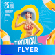 Tropical Summer Flyer / Poster - GraphicRiver Item for Sale