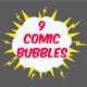 9 Comic Bubbles - VideoHive Item for Sale