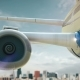 Airplane Take Off Chicago Illinois Second - VideoHive Item for Sale