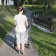Mother Walking with Baby Carriage Near the Lake, Taking Care - VideoHive Item for Sale