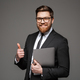 Portrait of a smiling young businessman - PhotoDune Item for Sale
