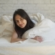 Young Attractive Woman Lying in the Bed - VideoHive Item for Sale