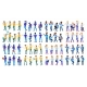 Man Set Vector. Modern Gradient Colors. People - GraphicRiver Item for Sale
