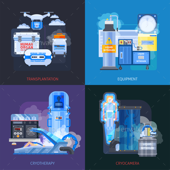 Cryotherapy Transplantation Design Concept - Computers Technology