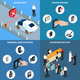 Access Identification Isometric Design Concept - GraphicRiver Item for Sale