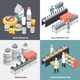 Milk Factory 2x2 Design Concept - GraphicRiver Item for Sale