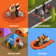 Isometric Refugees Design Concept - GraphicRiver Item for Sale