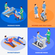 Isometric Physiotherapy Design Concept - GraphicRiver Item for Sale