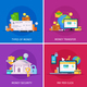 Financial Technology Flat Concept - GraphicRiver Item for Sale