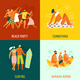 Vacation 2x2 Design Concept - GraphicRiver Item for Sale