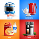 Household Appliances 2x2 Design Concept