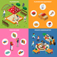 Kindergarten Play Ground Isometric Concept - GraphicRiver Item for Sale