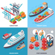 Sea Port 2x2 Design Concept - GraphicRiver Item for Sale