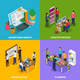 Advertising Agency Isometric Design Concept - GraphicRiver Item for Sale