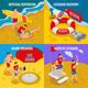 Beach Lifeguards 2x2 Design Concept