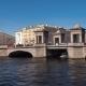 The Lomonosov Bridge on The Fontanka River. St. Petersburg, Russia - VideoHive Item for Sale