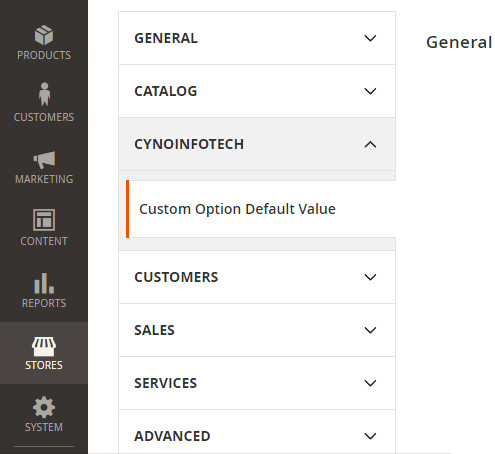 Custom Option Default Value Magento 2 Extension