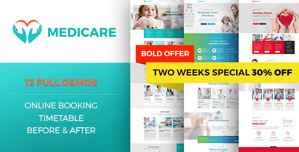 Medicare - Medical & Health Theme - Corporate WordPress